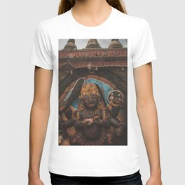 Temples and Architecture of Kathmandu City, Nepal 001 T-shirt