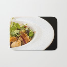 The Art of Food Bacon Sideways Bath Mat