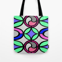mosaic Tote Bags featuring Mosaic by Elena Indolfi