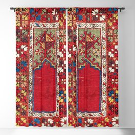 Mujur Central Anatolian Niche Rug Print Blackout Curtain