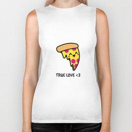 Pizza Is Love Biker Tank