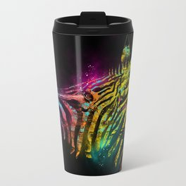 Zebra Mood Technicolor Travel Mug