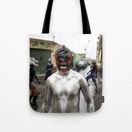 Lucha libre plateada Tote Bag