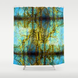 Groovy Abstract 1 Shower Curtain