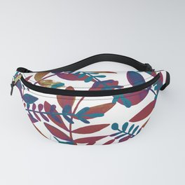 Watercolor branches - multicolor Fanny Pack