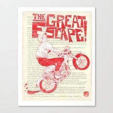 The Great Escape Canvas Print