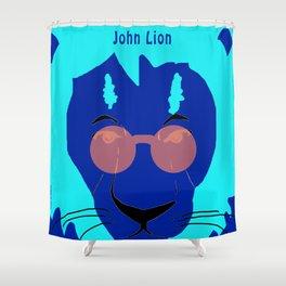 Jhon Lion Shower Curtain