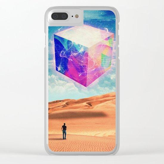 Cubism Clear iPhone Case