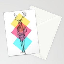 MANIMAL DEER Stationery Cards