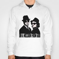 blues brothers Hoodies featuring Blues Brothers by John Medbury (LAZY J Studios)