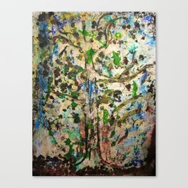 Fragrance of Color Canvas Print