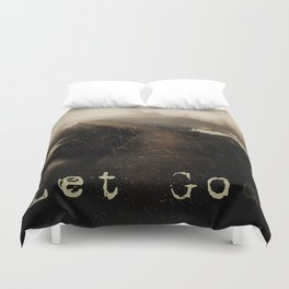 LET GOD Duvet Cover
