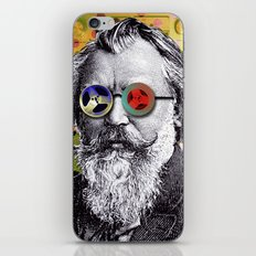 Brahms in Reel to Reel Glasses iPhone & iPod Skin