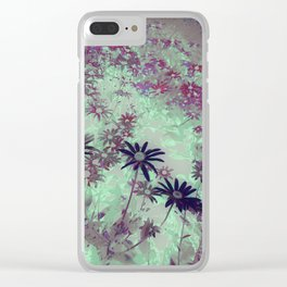 color fields Clear iPhone Case