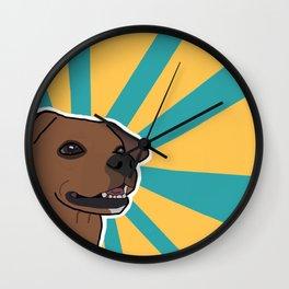 Wiggle Butt Wall Clock
