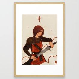 Constance Framed Art Print