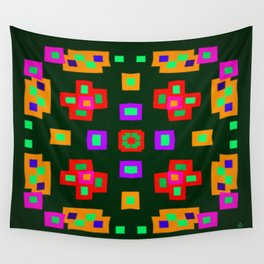 Symmetric composition 32 Wall Tapestry