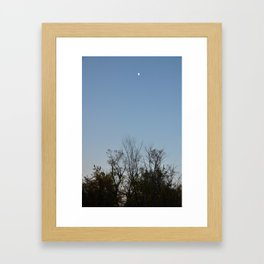 Brooklyn Dusk  Framed Art Print