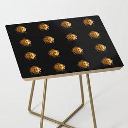 Budhha Golden Head by Lika Ramati Side Table