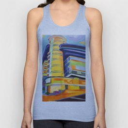 architecture abstract Unisex Tank Top