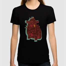 ants and heart T-shirt