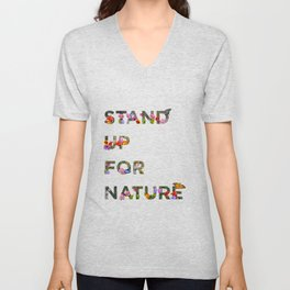 Stand Up For Nature Unisex V-Neck