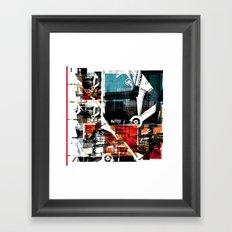 Collage 1 Framed Art Print