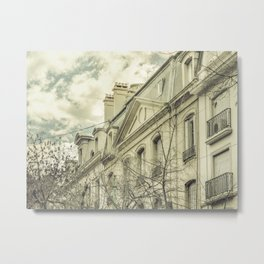 Neoclassical Style Buildings in Buenos Aires, Argentina Metal Print