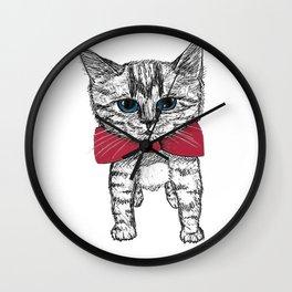 Evening wear Wall Clock