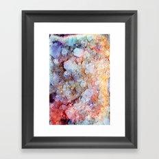 Painted Crystal Framed Art Print