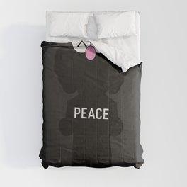 Kaws Peace Poster Comforters