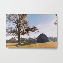 Kentucky Barn II Metal Print