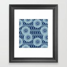 Kiku Framed Art Print