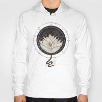 lotus flower Hoodies featuring Lotus by Hector Mansilla