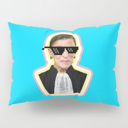 """The Notorious RBG Says """"Deal With It"""" Pillow Sham"""
