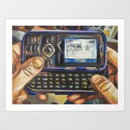 Complacency, Cellphone Art Print
