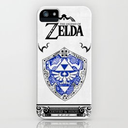 Zelda legend - Hylian shield iPhone Case