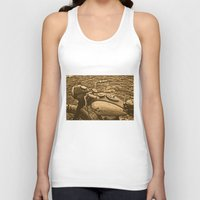 motorcycle Tank Tops featuring Jawa motorcycle by AhaC