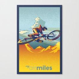"Retro Mountain Bike Poster/ Illustration / fine art print 11X17""  My AirMiles Canvas Print"