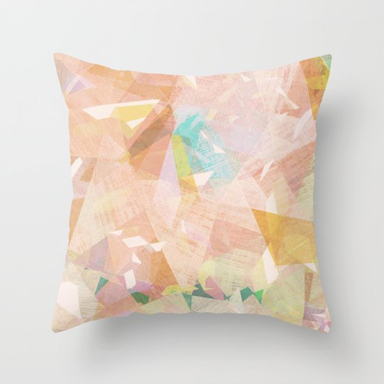 Diamonds Throw Pillow