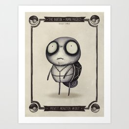 #007 Squirtle Art Print