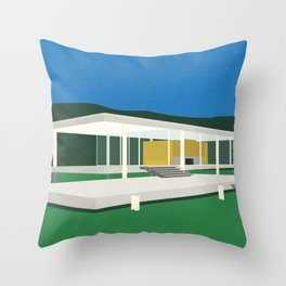 Farnsworth House Throw Pillow