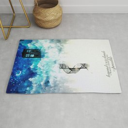 Beyond the clouds | Doctor Who Rug