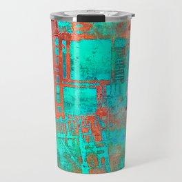 Abstract Ladder Travel Mug