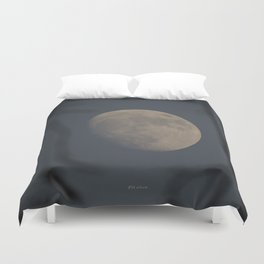 Moon at Three-Quarters Duvet Cover