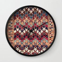 Kagizman Gaziantep Southeast Anatolian Rug Print Wall Clock