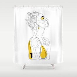 Bantu Beauty Shower Curtain