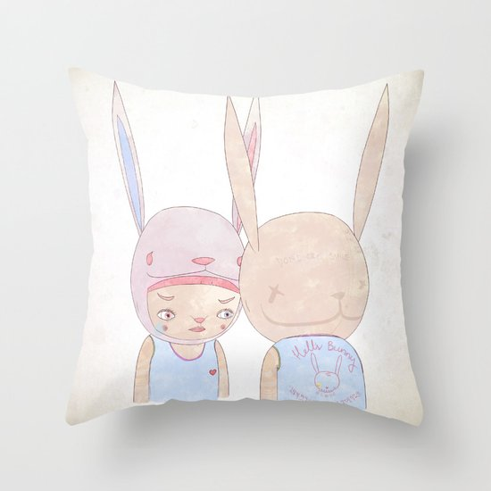 DEEP IN THE NIGHT DEEP IN THE MIST Throw Pillow