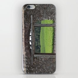 doorway to the vineyard iPhone Skin