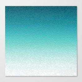 Healing Calming Gradient Texture Canvas Print